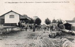 52-VALLENTIGNY-TRANSPORT BETTERAVES POUR SUCRERIES- - Autres Communes
