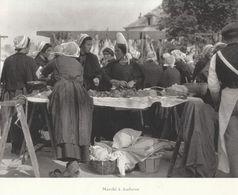 1927 - Héliogravure - Audierne (Finistère) - Le Marché - FRANCO DE PORT - Vieux Papiers