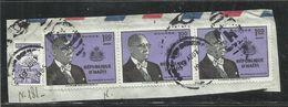 HAITI 1958 POSTA AEREA AIR MAIL PRESIDENT Francois Duvalier PRESIDENTE 1g USATO USED OBLITERE' - Haiti
