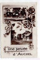 - CPSM AUCHEL (62) - Une Pensée D'Auchel 1939 (2 Photos) - Editions Fauchois - - Autres Communes