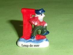 Fèves / Autres / Divers / Chiffres Et Lettres : Lettre L , Loup De Mer   T51 - Other