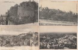 18 / 2 / 374    LOT  DE  10  CPA  DE  DOMFTRONT  ( 61 )  Toutes Scanées - Postcards