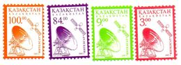 KAZAKHSTAN / Espace Antennes Satellites 2 Série De 2 Valeurs Dentelées Chacunes  MNH Valeur 7.00 Euros Vente 2.00 Euros - Space