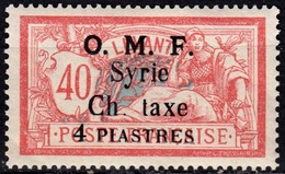 Syrie - Timbre-Taxe - N° 4 Neuf Sans Charnière. - Nuovi