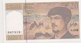20 FRS DEBUSSY G 058 NEUF 1997 - 1962-1997 ''Francs''
