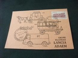 TRASPORTI POSTALI DAL 1800 AL 1972  GRUPPI FILATELICI LANCIA ADAEM - Poste & Postini