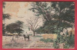 Sénégal  - Intérieur D'un Village - 1912 ( Voir Verso ) - Sénégal