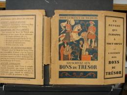 """BuAut. 13. Couverture De Livre """"souscrivez Aux Bons Du Trésor"""" - Andere Verzamelingen"""