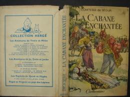 BuAut. 16. Couverture De Livre  Avec Publicité Collection Hergé Tintin Et Milou - Other