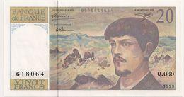 20 FRS DEBUSSY NEUF Q 039 1993 - 1962-1997 ''Francs''