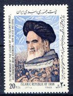 +D2727. Iran 1989. Khomeini. Michel 2351. MNH(**) - Irán
