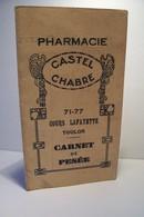 TOULON    -     Pharmacie  CASTEL - CHABRE   - 71-77  Cours Lafayette - - Advertising