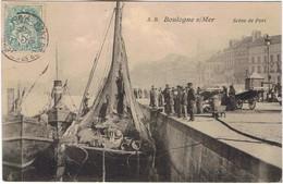 BOULOGNE Sur MER - Scène De Port - Boulogne Sur Mer