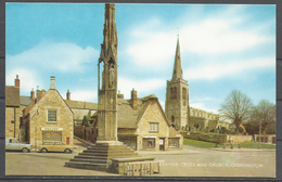 United Kingdom, Geddington, Eleanor Cross And Church. - Northamptonshire