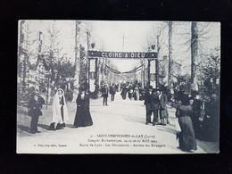 CPA  D42 St Symphorien De Lay, Congrés Eucharistique 1913 Route De Lyon - France