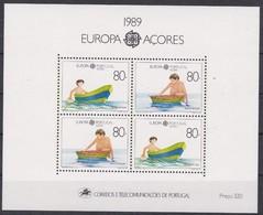 Portugal Açores Azoren CEPT 1989  Yvertn° Bloc 10 *** MNH Cote 13,00 Euro Europa Jeux D'enfants - Europa-CEPT
