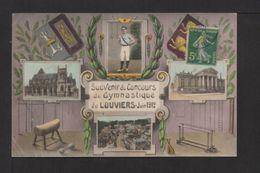 CPA. Dépt.27. LOUVIERS . Souvenir Du Concours De Gymnastique De LOUVIERS - Juin 1912 - France