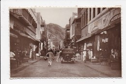 CARTE PHOTO ADEN YEMEN Tin Bazaar  ( Non Legendée) - Postcards