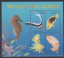 H03. St Vincent - MNH - Marine Life - Marine Life