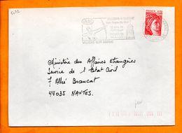 VAL DE MARNE, Villiers Sur Marne, Flamme SCOTEM N° 5072, 15 Ans De Jumelage, 140 Ans De Tir à L'arc - Marcophilie (Lettres)