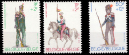 Belgium 2108/10** Militaire  MNH - België