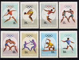 Rumänien  - Romina - Roumenie - Rominia - Michel 2697-2704 - ** Mnh Neuf Postfris - Olympiade 1968 - 1948-.... Repúblicas