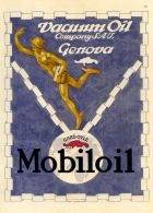 PUB 133 - PUBBLICITA MOBILOIL  - 1925 - Advertising