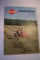 AGRICULTURE   -  KUHN  -  GIROFANEUR  - TRACTEUR  --PUBLICITE - - Advertising