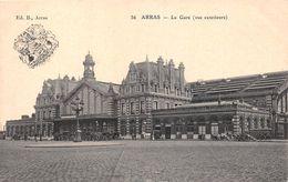 ¤¤  -   ARRAS   -  La Gare   -  Chemin De Fer    -  ¤¤ - Arras