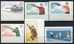 Rumänien  - Romina - Roumenie - Rominia - Michel 2413-2418 - ** Mnh Neuf Postfris - Sportschiessen - 1948-.... Republics