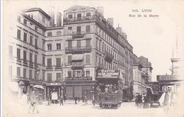 Cpa-69-lyon-2eme Arr-animée Avec Tramway-peu Courante-rue De La Barre-edi G.M N°315 - Lyon 2