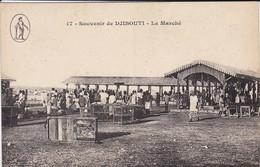 DJIBOUTI---souvenir De Djibouti---le Marché--voir 2 Scans - Dschibuti