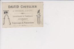 David Coutelier Grenade Sur Garone Assortiment De Tondeuses Repassages Et Réparations - Visiting Cards