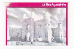 U2 Carte Postale N° CPC 257 EURO IMAGES Format Environ 9 X 14 Cm U 2 BONO - Musique Et Musiciens