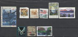 Estados Unidos. Lote De 10 Sellos. - Stamps