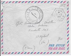 """NAVAL - 1960 - ENVELOPPE FM De L'AGENCE POSTALE NAVALE AU MAROC à AGADIR """"B"""" - Scheepspost"""