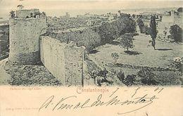 -turquie - Ref 249- Constantinople - Istanbul - Istamboul - Chateau Des Sept Tours - Carte Bon Etat  - - Turkey