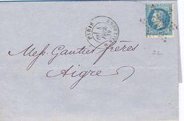 PARIS R. TAITBOUT TàD 4 FEVR. 79 = 1879 - YT N° 29 - ETOILE Avec 22 - - 1877-1920: Semi-Moderne