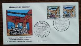 Dahomey - FDC 1962 - YT N°172, 173 - Evacuation De L'enclave Portugaise D'Ouidah - Benin - Dahomey (1960-...)