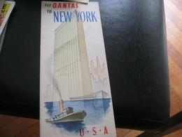 DEPLIANT QANTAS - Tourism Brochures
