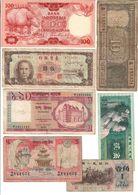Asia Lot 7 Banknotes - Banknoten