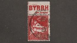 Algérie Timbre N° 79 A Avec Bande Publicitaire ByrrH - Algeria (1924-1962)