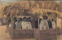 SENEGAL---Village Sénegalais Porte Maillot La Mosquée--voir 2 Scans - Sénégal
