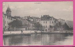 CORSE (2B) - SAINT FLORENT Les Quais - France