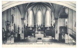 Cpa Villelongue De La Salanque - Intérieur De L'église - France