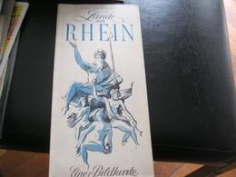 DEPLIANT LANDE AM RHEIN - Tourism Brochures