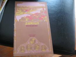DEPLIANT ZURICH - Tourism Brochures