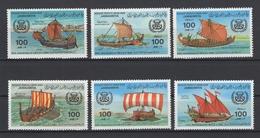 Libye. Y&T N° 1118/23. Neuf, **, MNH. Cote Y&T 2008 : 10,50 € - Libye