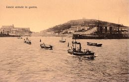 ITALIA - LEGA NAVALE ITALIANA / MARE NOSTRUM : LANCIE ARMATE IN GUERRA - ANNÉE / YEAR ~ 1910 (ab482) - Guerre