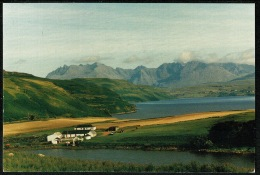 RB 1192 - 2000 Postcard - Gesto Farm & The Cuillins - Isle Of Skye - Slogan Postmark Inverness-shire Scotland - Inverness-shire